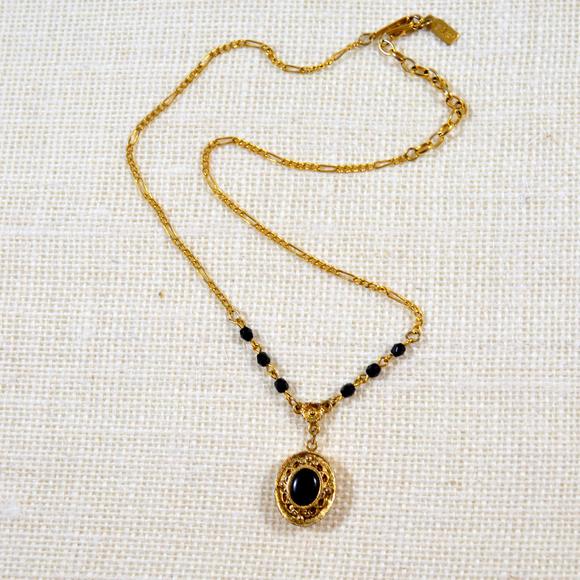 1928 jewelry locket necklace poshmark 1928 locket necklace aloadofball Gallery